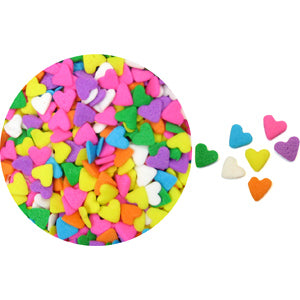 Pastel Hearts Quins Sprinkles