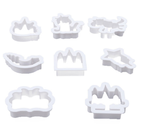 16pc Unicorn Cookie Cutter & Stencil Set
