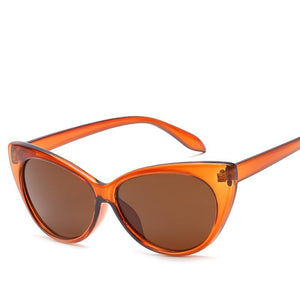 Edgy Retro Slim 52mm Cat Eye Sunglasses - Mix Colors