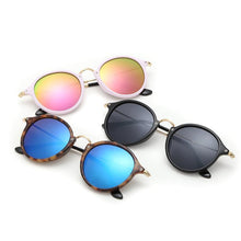 Load image into Gallery viewer, Ultra Retro Colored Mirror Round Sunnies - Mix Colors