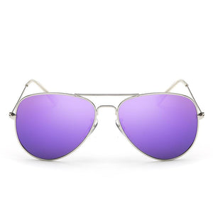 Retro Cool Bright and Colorful Round Sunnies - Mix Colors
