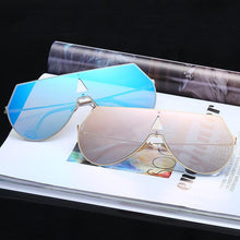 Load image into Gallery viewer, Rimless Geometric High Fashion Striking Aviator Sunglasses - Mix Colors