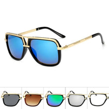 Load image into Gallery viewer, Squared Aviators Wholesale Bulk Sunglasses - Mix Colors