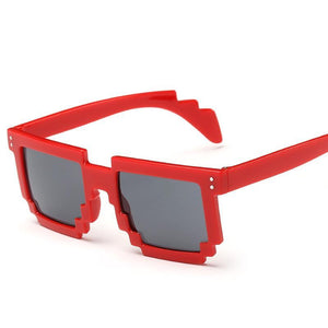 Square Metal Trim Modern Glam Sunglasses - Mix Colors