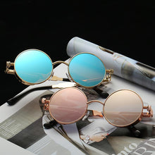 Load image into Gallery viewer, Retro 60's Inspired Colorful Lens Oval Sunglasses - Mix Colors