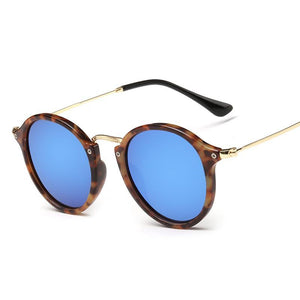 Ultra Retro Colored Mirror Round Sunnies - Mix Colors