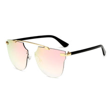 Load image into Gallery viewer, Womens Wholesale Hipster Tear Drop Cat Eye Lens Metal Sunglasses - Mix Colors