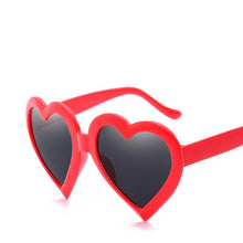 Load image into Gallery viewer, Cute Heart Shaped Plastic Frame Sunnies - Mix Colors