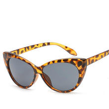 Load image into Gallery viewer, Edgy Retro Slim 52mm Cat Eye Sunglasses - Mix Colors
