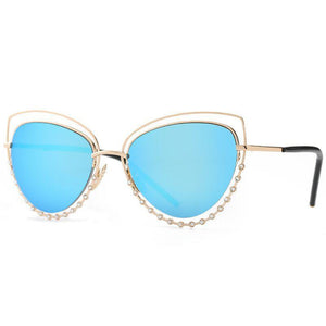 Cat Eye Fashion Sunglasses - Mix Colors