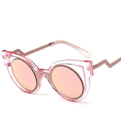 Cat Eye Stylish Sunglasses - Mix Colors