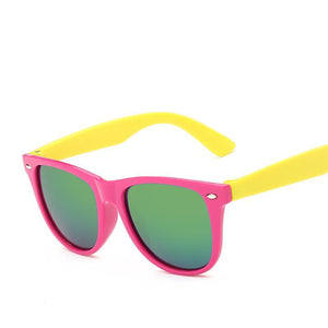 Kids Flat Top Shadow Sunglasses - Mix Colors