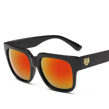 Load image into Gallery viewer, Square Keyhole Bridge Studded Laid Back Sunglasses - Mix Colors