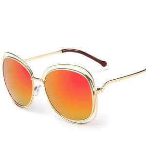 Steampunk Essential Ultra Thin Floating Wire Frame Round Sunnies - Mix Colors