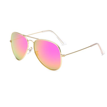 Load image into Gallery viewer, Unisex Wholesale Colored Metal Frame Aviator Sunglasses  - Mix Colors