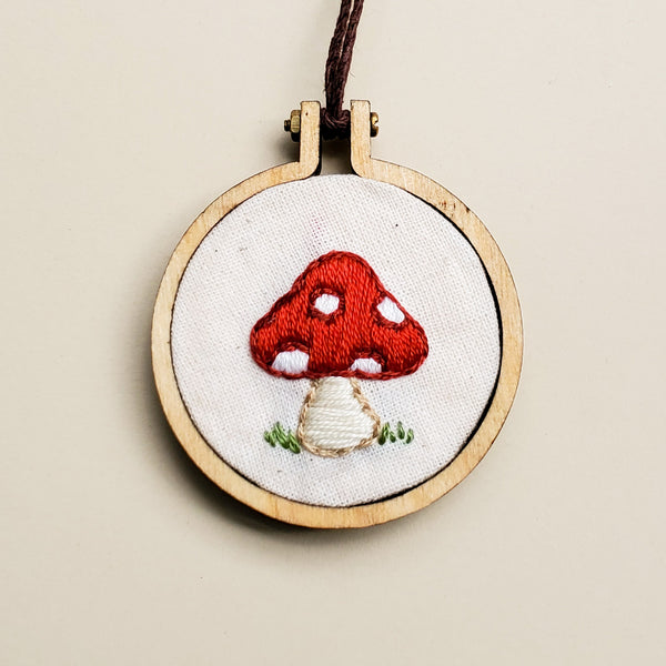Embroidered Necklaces - Poppysmicks