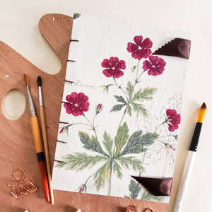 Botanical Illustrations Watercolour Book