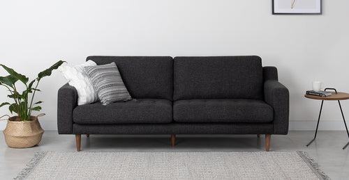 Modsy Hard Coal Sofa