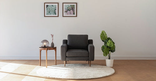 Hard Coal Modular Armchair