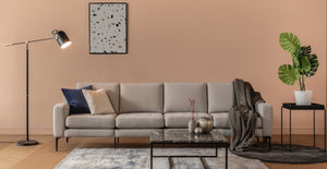 Beige Modular King Sofa