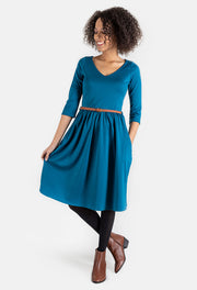 Lorna Teal Dress