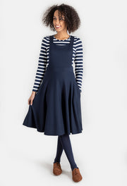 Ginny Navy Pinafore & Top