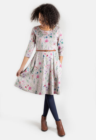 Margot Floral Print Dress