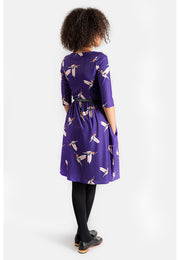 Clara Hummingbird Print Dress