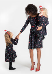 Candy Cane Children's Christmas Dress