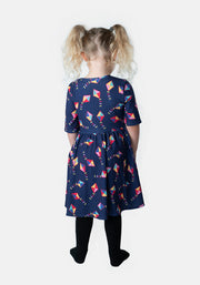 Ashlyn Children's Kite Print Dress
