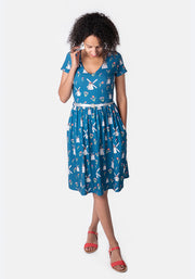 Winola Windmill Print Dress