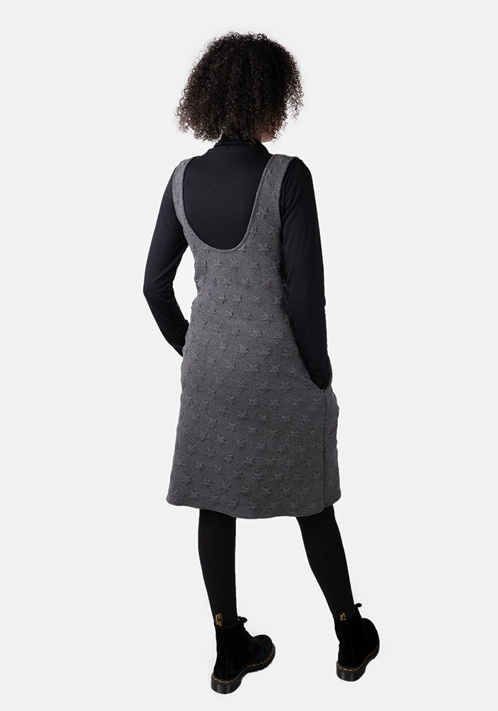 Charlee Star Jacquard Pinafore & Top