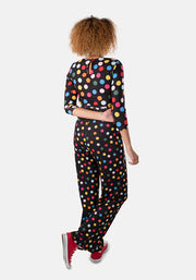 Dotty Multi Coloured Spot Jumpsuit