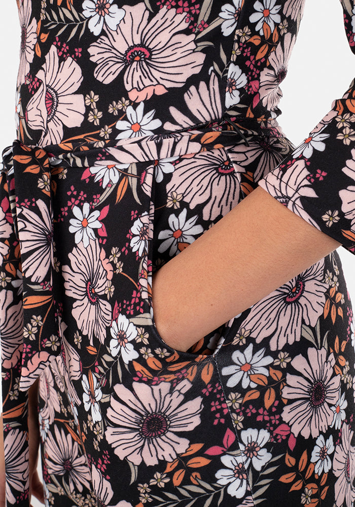 Eugenie Big Floral Print Jumpsuit