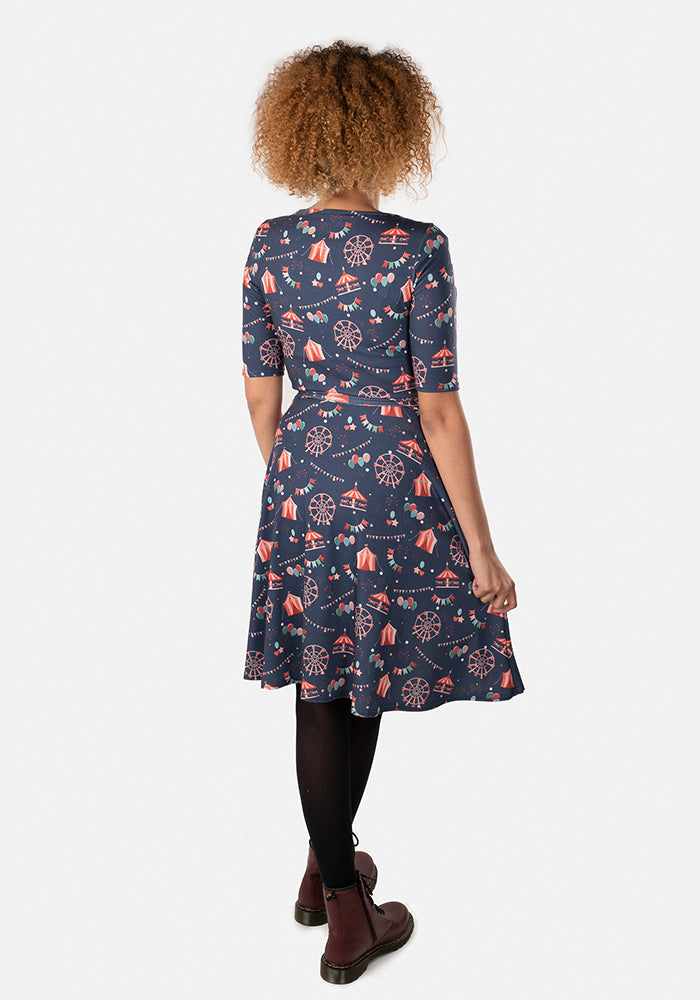 Finnley Fairground Print Dress