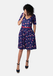 Kit Kite Print Dress