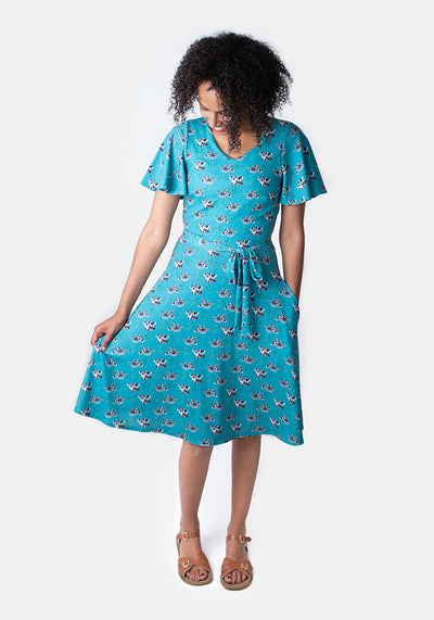 Karla Koala Bear Print Dress