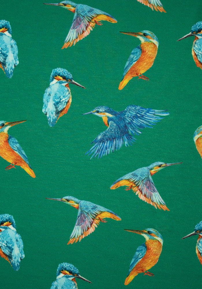 Kori Kingfisher Print Dress