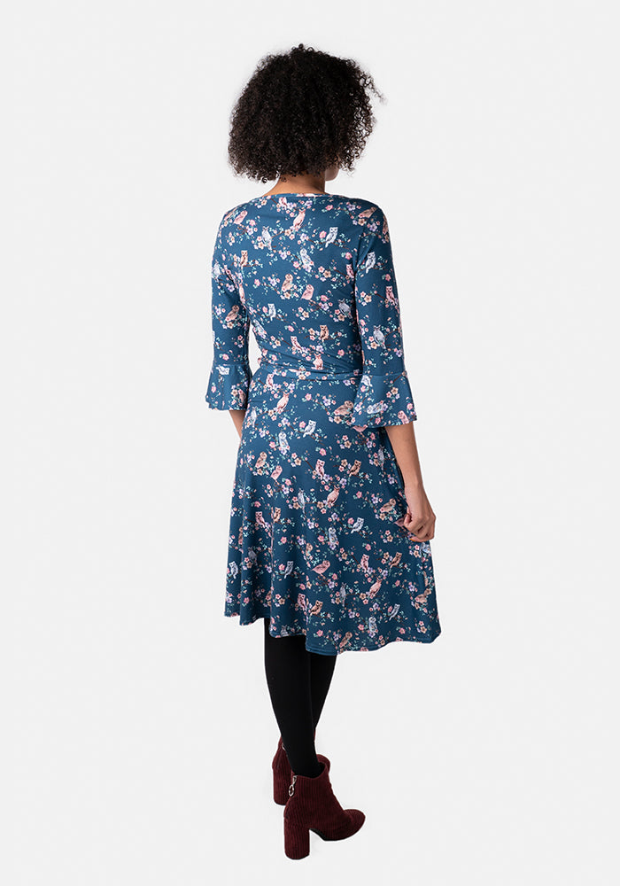 Lennox Owl Print Dress