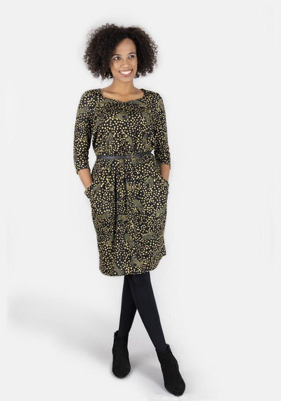Laura Leopard Print Dress