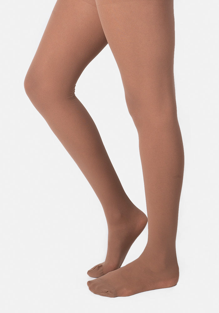 Premium 30 Denier Sheer Tights Tan