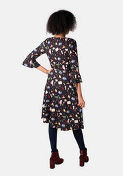 Melissa Wizard & Witch Print Dress