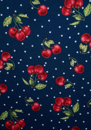 Charity Cherry Print Dress
