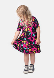 Amina Children's Animal Print Dress