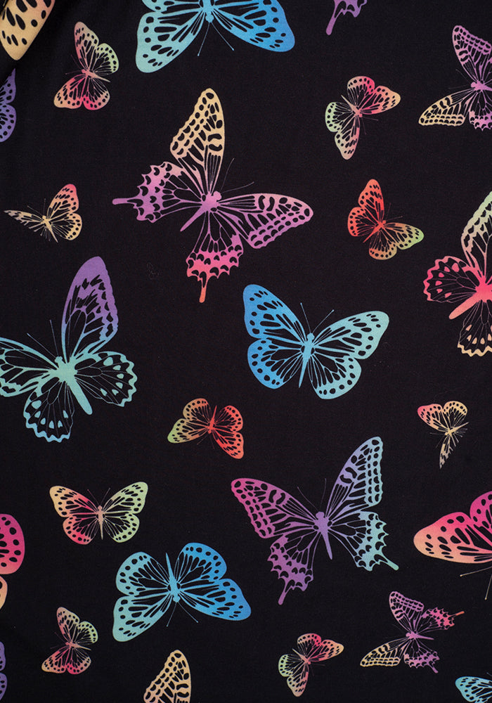 Sofia Multi Coloured Butterfly Print Dress