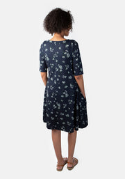 Lavinia Gypsophila Print Dress