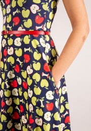 Ada Apple Print Dress