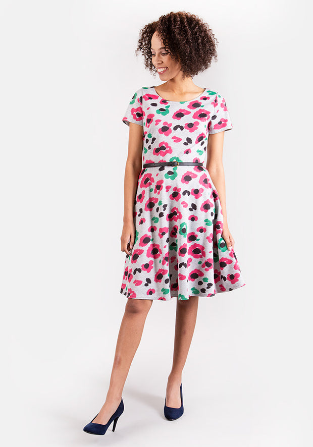 Angie Floral Print Dress