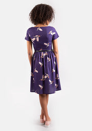 Carrie Hummingbird Print Dress