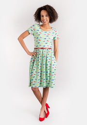 Dani Sausage Dog Print Dress
